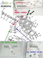 Yamaha RZ350 RD350YPVS Valve Holder Screw + Washer x2 set NOS Joint Mounting Kit