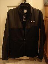 NWT Nike Winter Hyperply Black Jacket 378658-100 Nadal Federer NEW Medium RARE