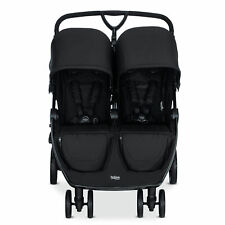 Britax U761905 Foldable Adjustable B Lively Double Stroller with Mesh Canopies