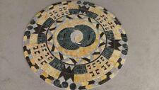 Tile art medallion
