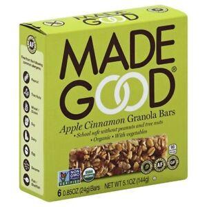 Made Good Apple Cinnamon Granola Bars
