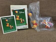 New Hallmark Miniature Ornament Winnie The Pooh Up For Adventure Set 2005
