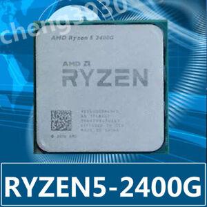 AMD Ryzen 5 2400G 3.6GHz Quad-Core  Socket AM4 RX-VEGA CPU 65W CPU Processor