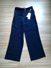 Brand New Ladies Per Una tie waisted wide leg trousers Size UK 8
