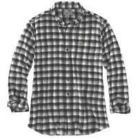 Carhartt 103314C - Rugged Flex Hamilton Plaid Flannel Shirt - Black 001