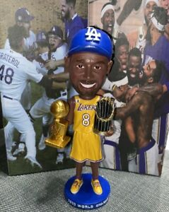Kobe Bryant Los Angeles Lakers Dodgers 2020 CITY OF CHAMPIONS Bobblehead - HOME