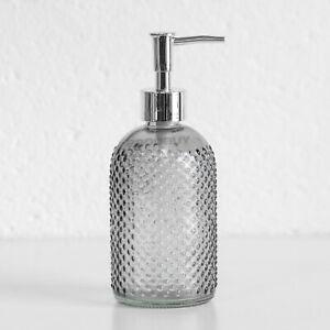 400ml Grey Vintage Lotion Liquid Soap Dispenser Bathroom Kitchen Sink Accessory