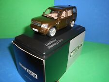 CORGI VANGUARD/WHITEBOX LAND ROVER DISCOVERY 4  2010  ONLY 1,000 MADE