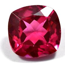 AAA+18.30 Ct Natural Pink Pyrope Garnet AGSL Certified STUNNING Cushion Gemstone