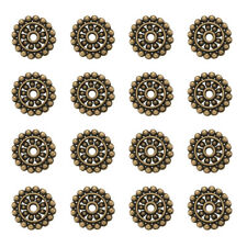 MB38 LF NF 50 x Tibetan Style Saucer Spacer Beads Antique Bronze 6.5mm x 4mm