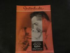 Interlude by Webster and Skinner Sheet Music 1957