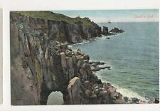 Lands End Cornwall Vintage Postcard 494a