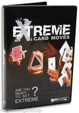 Extreme Card Moves DVD - Learn Manipulations, Flourishes, Cuts, Stunts & More