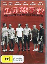 The Class Of 92 DVD David Beckham Ryan Giggs Nicky Butt Gary Neville NEW SEALED