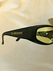 TC Electronic Yellow-Tinted Sports Sunglasses unisex RARE