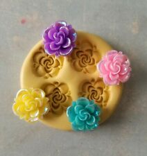 Flower decorations silicone mold food safe fondant chocolate candy mold resin