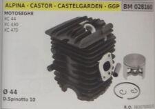 CILINDRO PISTONE COMPLETO MOTOSEGA ALPINA CASTOR CASTELGARDEN GGP XC 44 430 470