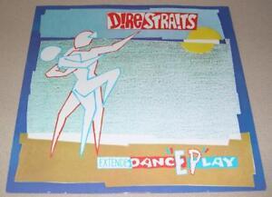 "DIRE STRAITS - ExtendeDancEPlay (12"" 45 RPM EP, 1983, UK) VG+"