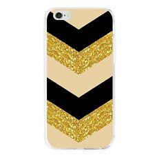 Gold Bling Pattern Handy Schutzhülle Handyhülle Für iPhone Samsung Huawei LG