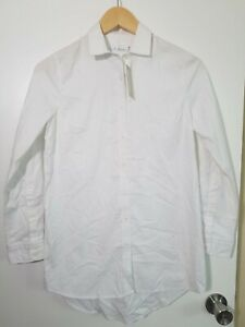 1 NWT PETER MILLAR WOMEN'S SHIRT, SIZE: X-SMALL, COLOR: WHITE (J50)