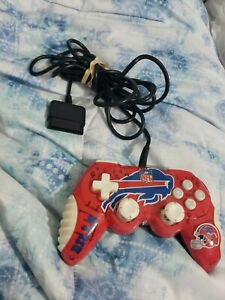 PlayStation 2 PS2 MadCatz NFL Buffalo Bills Controller Wired Tested