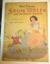 Walt Disney's Snow White and the Seven Dwarfs book