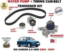 FOR KIA CARENS 2.0 CRDI D4EA 2002-2005 TIMING CAM BELT KIT + WATER PUMP SET