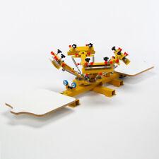 Machine D'Impression D'HDT4200 pour Mehrfarb-Siebdruck Sérigraphie Carrousel
