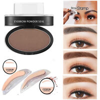 Natural Eyebrow Powder Makeup Brow Stamp Palette Delicated Shadow Definition 01L