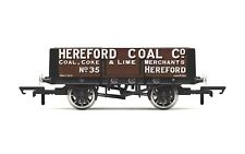 Hornby OO Gauge R6901 5-Plank Wagon - Hereford Coal Co
