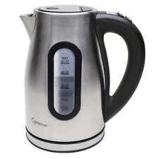 Capresso H2O Pro Brushed Programmable Cordless Water Kettle - Stainless Steel