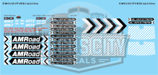 AMRoad Silver Streak Movie Train Decals Black O Scale FP7A Passenger