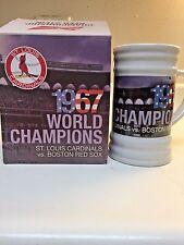 Cardinals 1967 World Series Championship Stein Mug SGA 6/30/17