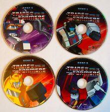 TRANFORMERS Season 2 DVDs 4 Disc 25th Anniversary