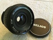 HELIOS 35mm 1:2.8 AUTO WIDE ANGLE LENS with PENTAX M42 MOUNT in GOOD CONDITION