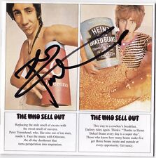 THE WHO Sell Out PETE TOWNSHEND My Generation Tommy Next CSI CD Autograph SIGNED