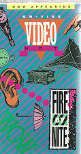 Fire By Nite VHS Christian TV  Why Bad People Go To Heaven  w/ Geoff Moore