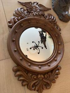 American Eagle Federal Style Convex Hall Mirror