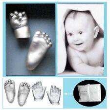 3D Plaster Handprint Footprint Baby Mould Hand&Foot Casting Prints Kit Gift BB