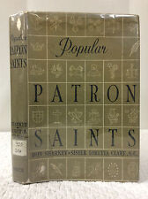 POPULAR PATRON SAINTS 1960 Bruce Publishing, Catholic, biography