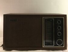 Sony TFM-9440W AM/FM Vintage Radio Sounds Perfect On Both AM/FM