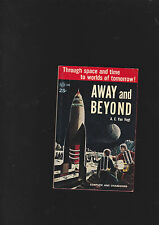 A.E.VAN VOGT.AWAY AND BEYOND. SIGNED.AVON#548NICE COPY.