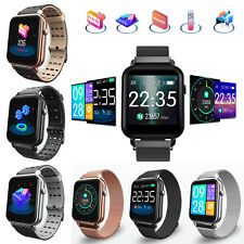 Sports Bracelet Fitness Tracker Bluetooth Smart Watch HR Monitor Fits For Mobile