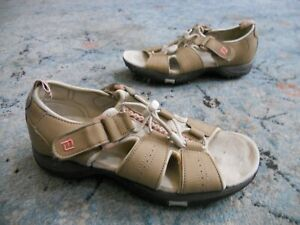 FootJoy Women's Size 7 M tan pink Sport Golf Sandals 48453