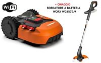 Robot rasaerba WORX LANDROID WR130E robottino tagliaerba automatico Wi-Fi 300mq
