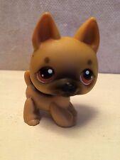 Littlest Pet Shop #61 German Shepard w/ Brown Eyes Puppy Dog USA seller 9 pics
