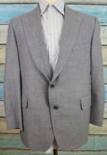Samuelsohn 42S Grey Wool 2 Button Single Breasted  Blazer