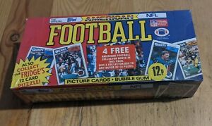 Sealed BOX 1987 TOPPS AMERICAN FOOTBALL NFL PICTURE CARDS BUBBLE GUM 48 ct