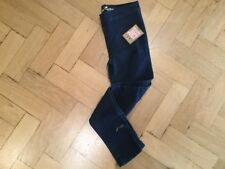 NWT Juicy Couture New & Gen. Girls Age 8 Blue Denim Leggings With Juicy Logo