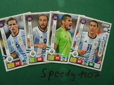 Panini Road to Russia 2018 FIFA World Cup 14 Team mates argentina Adrenalyn